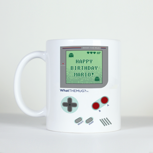 zelda mario nintendo happy birthday mug