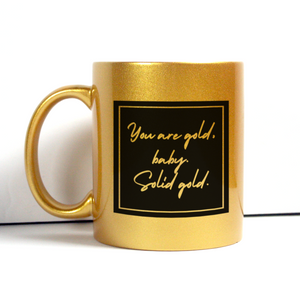 Solid Gold Mug