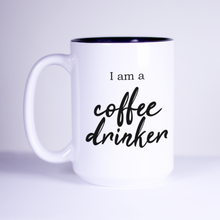 Load image into Gallery viewer, coffee drinker wine vodka brew tea addict gin tonic joke mug
