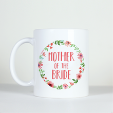 Load image into Gallery viewer, Custom Floral Ring Mug