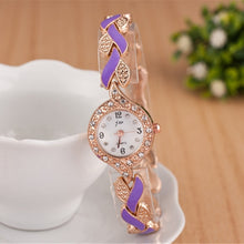 Load image into Gallery viewer, 2018 New Brand JW Bracelet Watches Women Luxury Crystal Dress Wristwatches Clock Women's Fashion Casual Quartz Watch reloj mujer