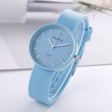 Load image into Gallery viewer, 5 Colour Simple Style Silicone Watch Fashsion Women Watches Quartz Wristwatch Clock For Women Ladies Female Students Cool