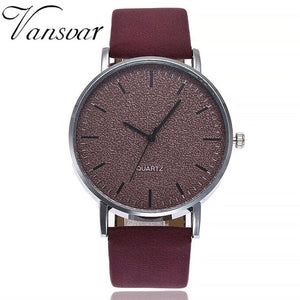women's watches brand luxury fashion ladies watch women leather 7 colors Grind Clock dial Clock Wristwatch Relogio Masculino #7