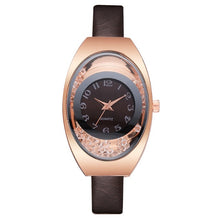 Load image into Gallery viewer, Leather Watches Women Luxury Top Brand Strap Dress Quartz Watch For Ladies Bracelet Wristwatches Female Clock Relogio Feminino
