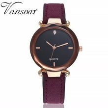Load image into Gallery viewer, Fashion Women Leather Quartz Watch Female Hot Sale Simple Analog Wristwatches Relogio Feminino Clock