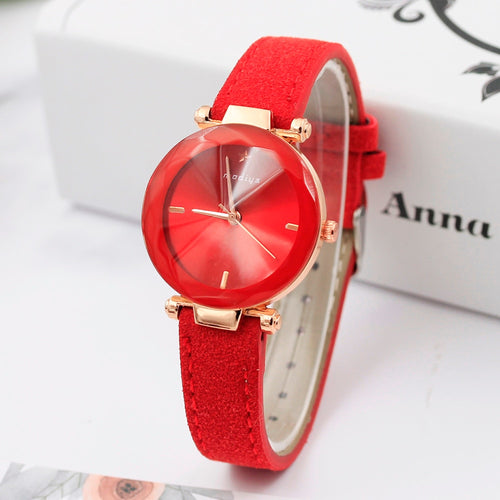 XINIU Women Dress Watches Colorful Crystal Women Bracelet Watch Wristwatch ladies watches top brand luxury#G