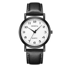 Load image into Gallery viewer, 2018 Top Brand Luxury Leather Quartz Watches Geneva Women Fashion Watch New Classic Ladies Casual Wristwatch Female Dress Clock