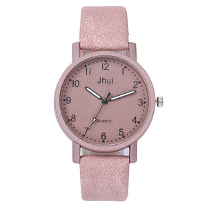 Women's Casual Quartz Leather Band New Strap Watch Analog Precise time and keep good time Wrist Watch Wristwatch Clock Gift #20