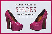 Match A Pair of Shoes Memory Games - The Metropolitan Museum of Art tex. Pair of pink heels with pink border.