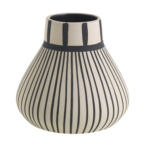 Tribeca Vase Small Stripes