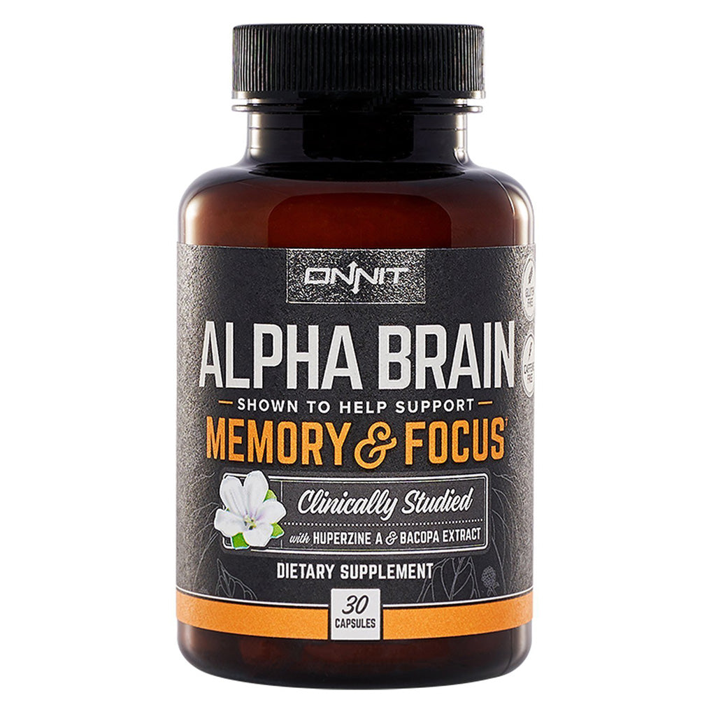 Alpha Brain Clinically Studied Nootropic Supplement