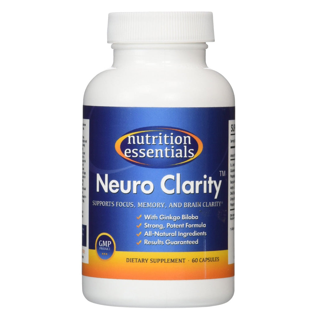 Neuro Clarity Brain Function Booster Supplement