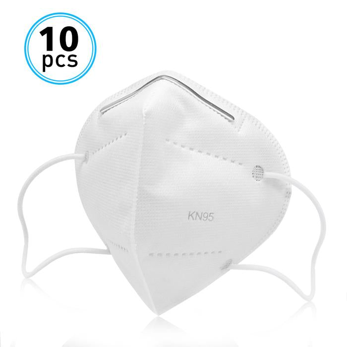 KN95 5 Layers KN95 Respirator Face Mask 10 Pack (Ships same day)