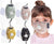 Good2go 4 PCS Kids Washable Reusable Adjustable Cotton Face Mask, with 8 Activated Carbon Filter Sheet for added protection, toddler boys and girls Facial Protection Filtration 95%, Anti-Fog, Dust-Proof