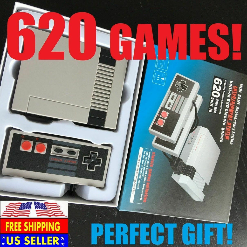 Classic Edition Mini Console With 620 Games Video Games Electronics Accessories Video Games