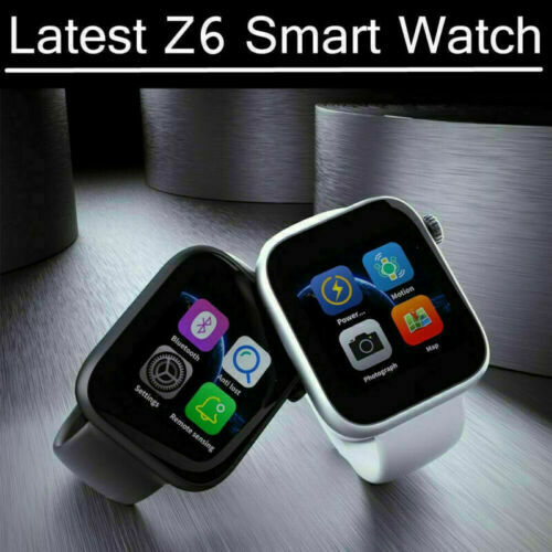 2019 smart watch with HD camera, Heart rate monitor for iphone & Android