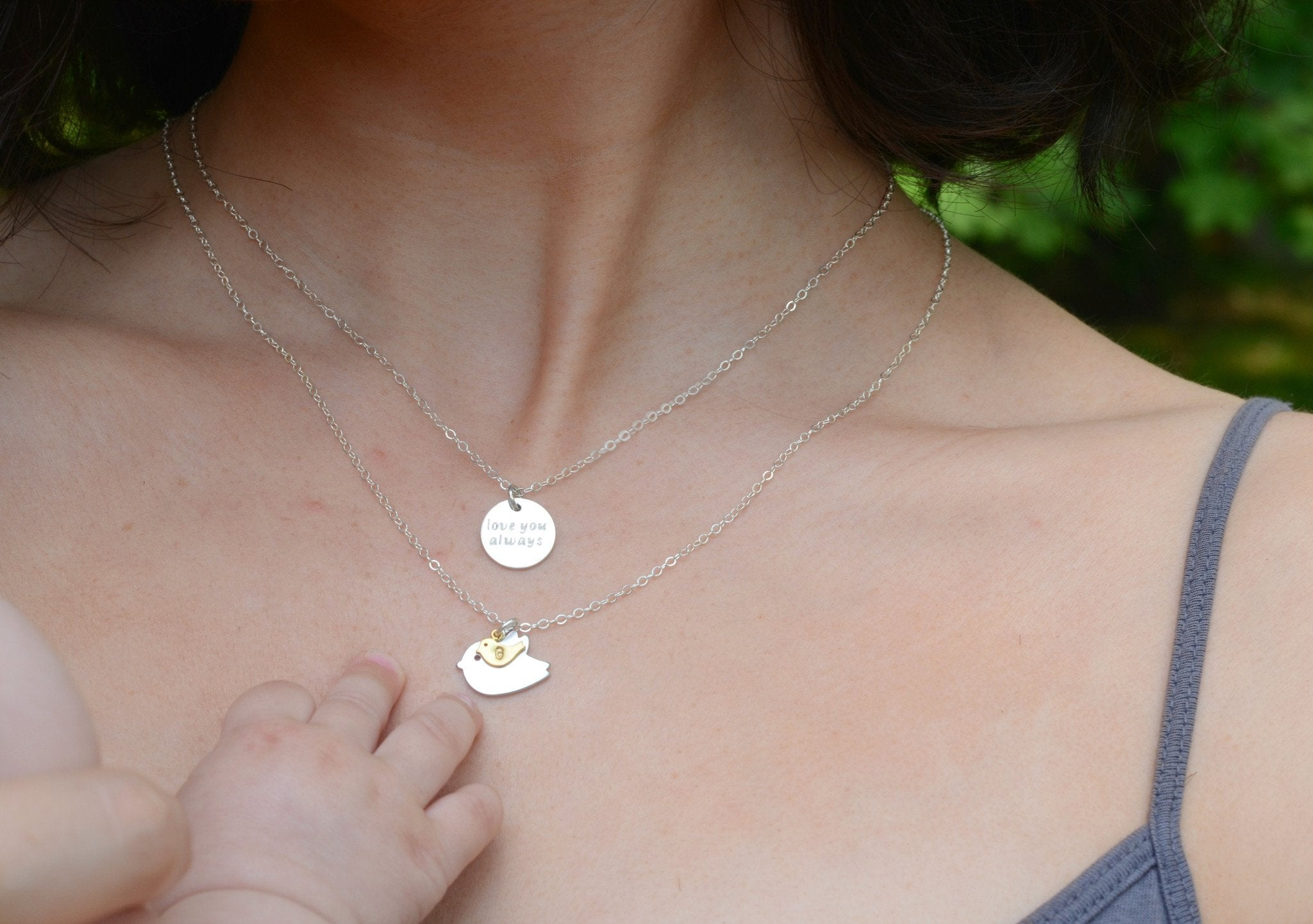 plated the necklaces august baby alessia birthstone in gold necklacess chains name special design necklace
