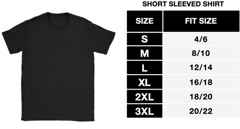 Women T-shirt Sizing