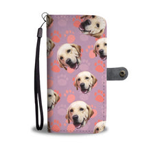 Custom Dog Wallet Phone Case | Personalized Wallet Phone Case (Labrador Retriever)