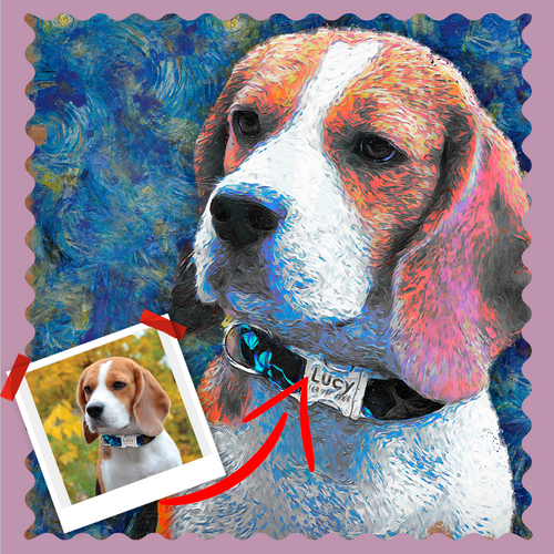 Van Dogh Pet Artwork - Let Us Turn Your Pet Into Art