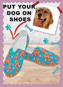Print your dog on shoes
