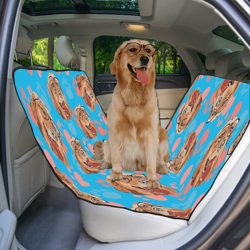 Personalized Seat Cover 55 x 58 | Put Your Dog On a Custom Seat Cover - Wine Shadow