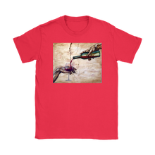 The creation of Adam Wine T-shirt