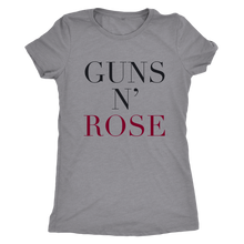 Guns n' Rose T-shirt - Wine Shadow