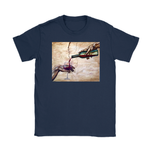 Wine of Adam Michelangelo T-shirt