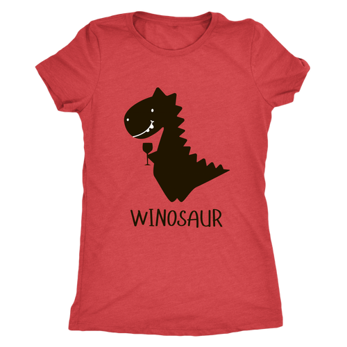 Winosaur Women's T-shirt - Wine Shadow