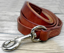 Real Leather Dog Leash
