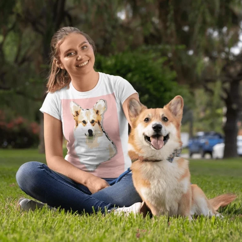 Custom Dog T-shirt | Personalized Pet Tshirt
