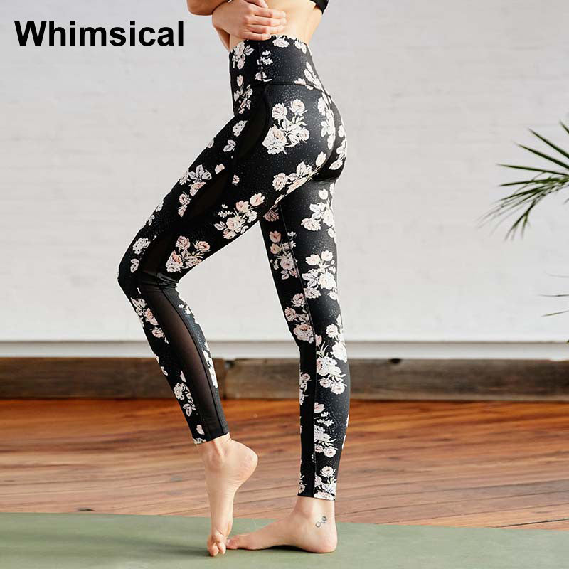Floral Printed Yoga Leggings