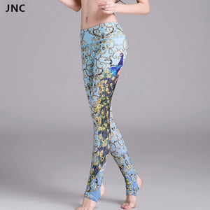 Beautiful Peacock Yoga Leggings