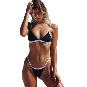 Women's Swimwear Brazilian Bikini Set
