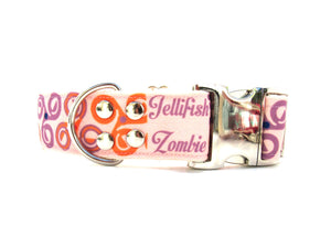 Freyja Goddess Dog Collar {Cotton Candy}