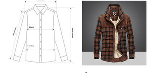 Flannel Long Sleeve Button Up - 2 colors