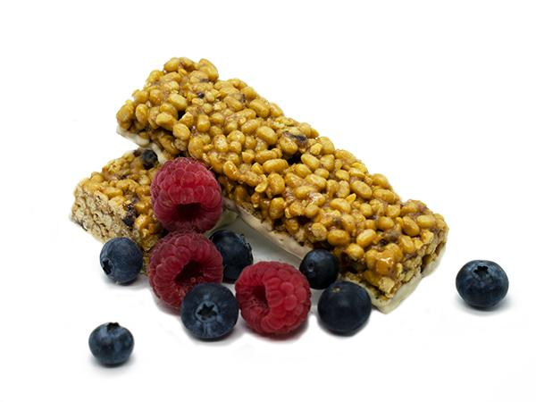 Lose weight with a great tasting meal replacement Double Berry Bar