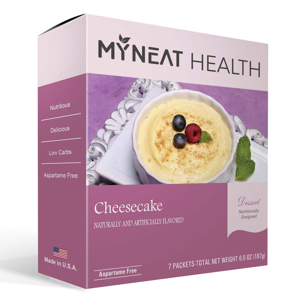 Cheesecake - Healthy Dessert with Protein (7/box) | My Neat Health