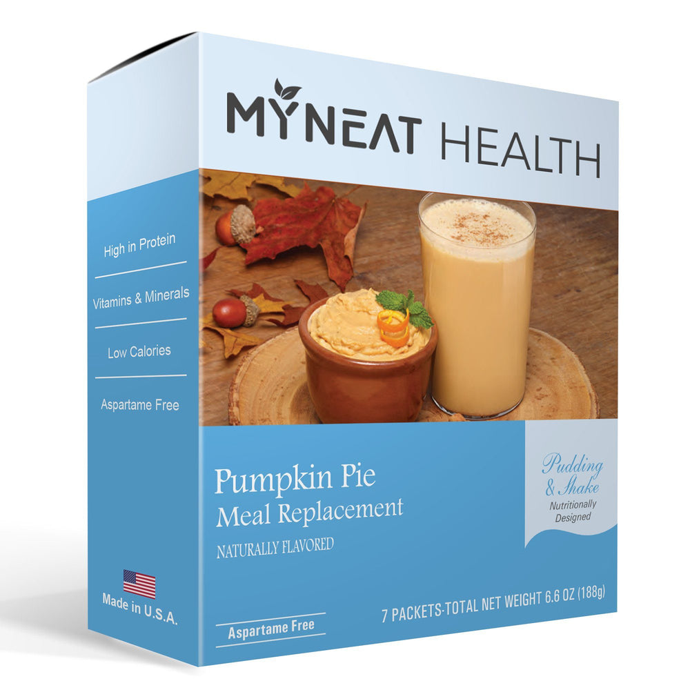 Pumpkin Pie Meal Replacement Pudding & Shake (7/Box)