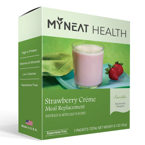 My Neat Health Protein Smoothie - Strawberry Creme