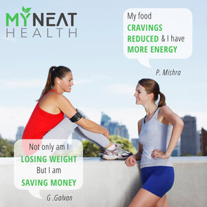 Healthy people discuss benefits of good diet