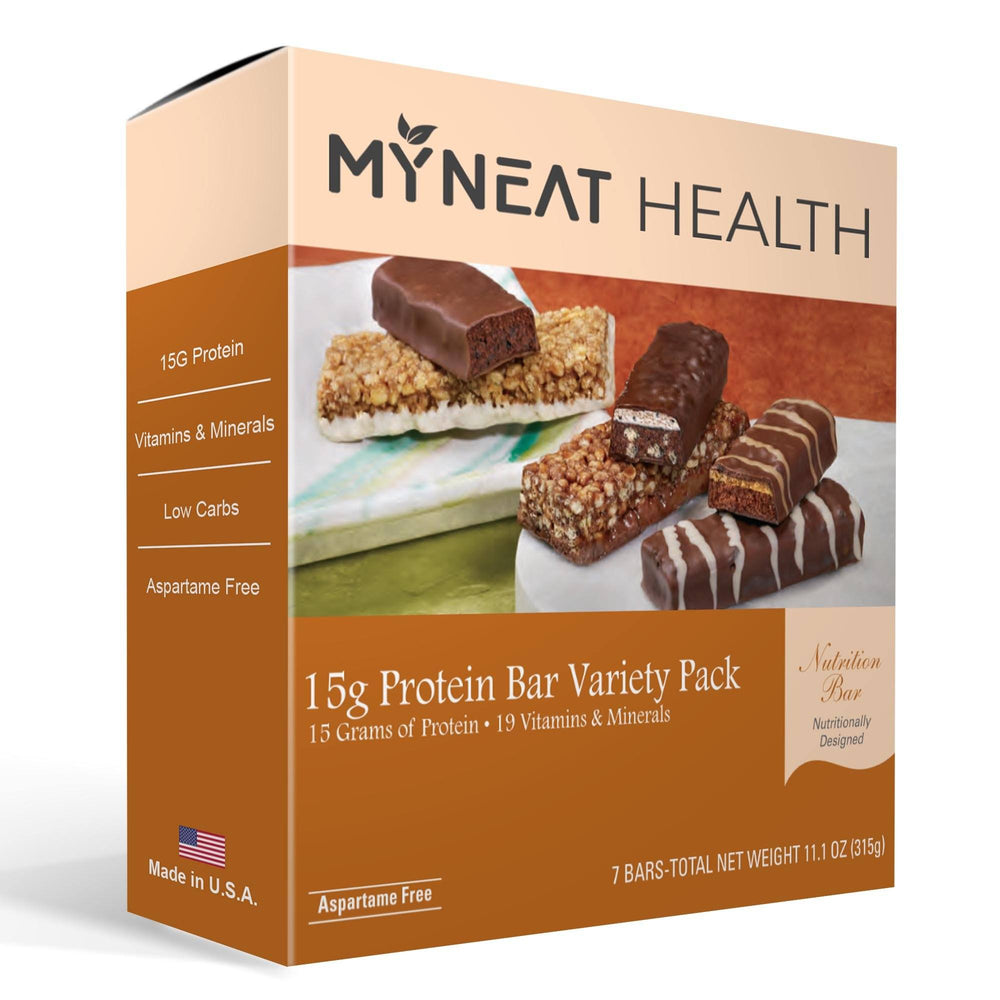Variety Pack Meal Replacement Bars (7/Box)