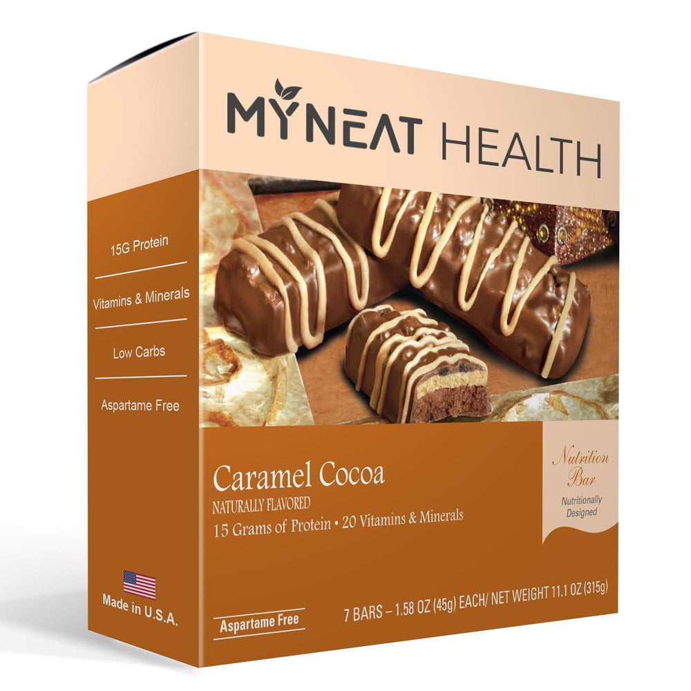 Caramel Cocoa Meal Replacement Bar (7/Box)