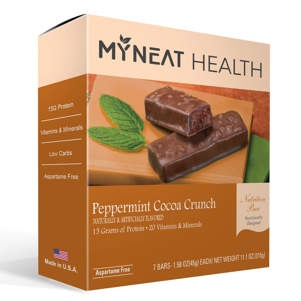Peppermint Cocoa Crunch Meal Replacement Bar (7/Box)