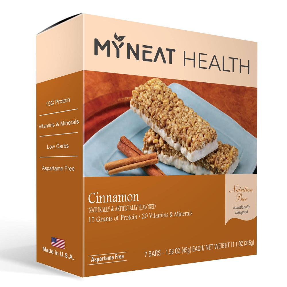 Cinnamon Meal Replacement Bar (7/Box)