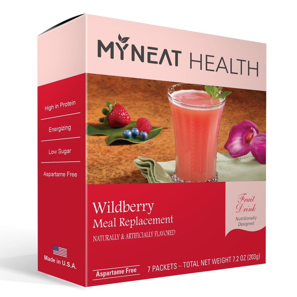 Wildberry meal replacement fruit drink