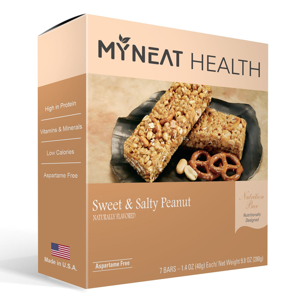 Sweet & Salty Peanut Protein Bars (7/Box)
