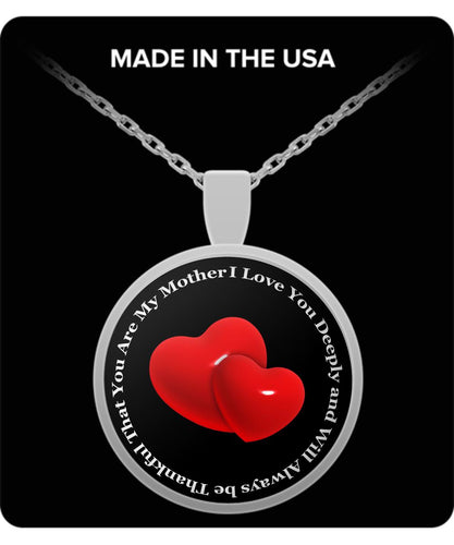 Best Mother's Day Gift -I Love My Mother Deeply Necklace Gearbubble