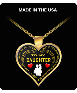 Daughter - No Matter How Old You Get, You Will Always be Daddy's Little Girl - Love Dad - Necklace Necklace Gearbubble